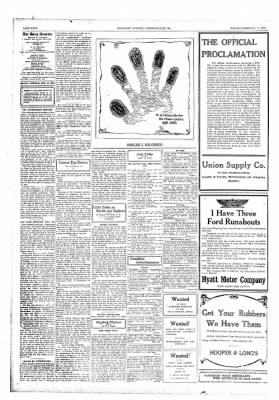 The Daily Courier from Connellsville, Pennsylvania on February 11, 1918 · Page 4