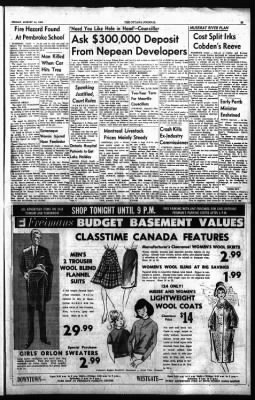 The Ottawa Journal from Ottawa,  on August 14, 1964 · Page 39