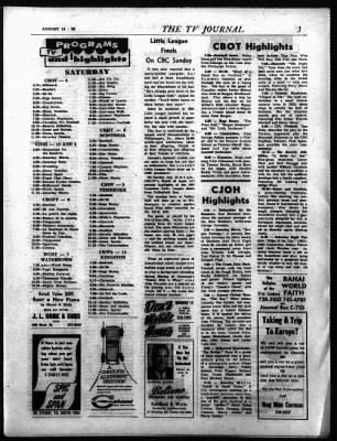 The Ottawa Journal from Ottawa,  on August 14, 1964 · Page 47