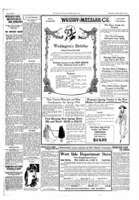 The Daily Courier from Connellsville, Pennsylvania on February 21, 1918 · Page 8