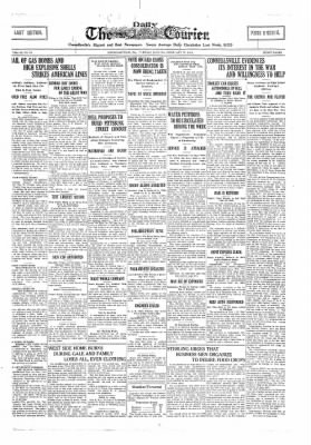The Daily Courier from Connellsville, Pennsylvania on February 26, 1918 · Page 1