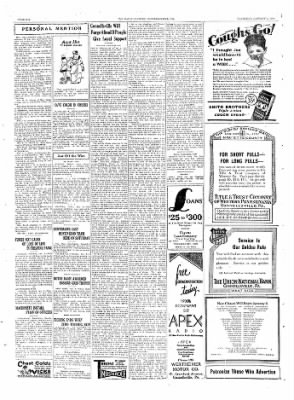 The Daily Courier from Connellsville, Pennsylvania on January 2, 1930 · Page 6