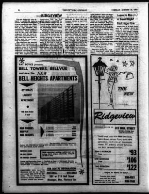 The Ottawa Journal from Ottawa,  on August 18, 1964 · Page 40