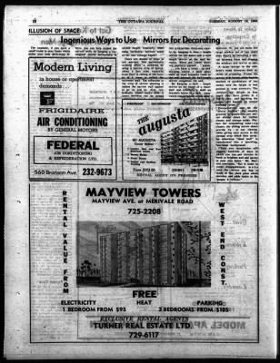 The Ottawa Journal from Ottawa,  on August 18, 1964 · Page 42