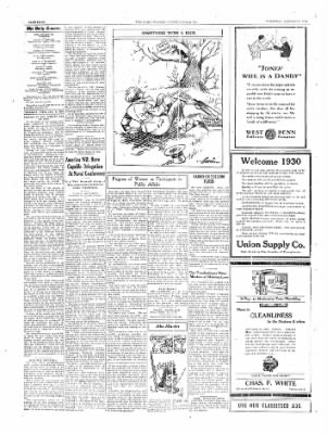 The Daily Courier from Connellsville, Pennsylvania on January 9, 1930 · Page 4