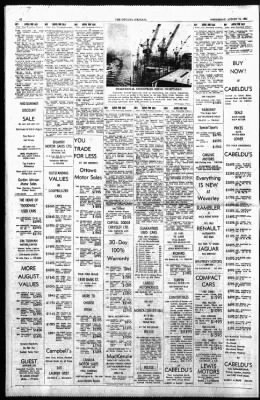 The Ottawa Journal from Ottawa,  on August 19, 1964 · Page 42