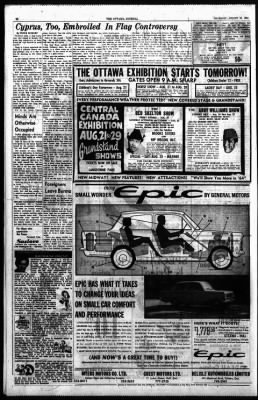 The Ottawa Journal from Ottawa,  on August 20, 1964 · Page 26