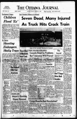 The Ottawa Journal from Ottawa,  on August 21, 1964 · Page 1