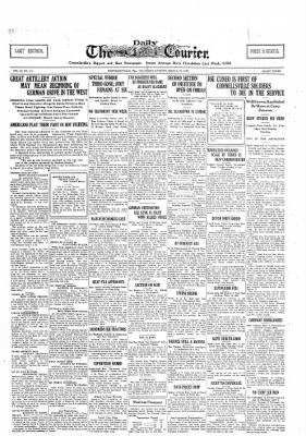 The Daily Courier from Connellsville, Pennsylvania on March 21, 1918 · Page 1