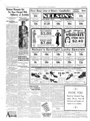 The Daily Courier from Connellsville, Pennsylvania on January 14, 1930 · Page 5
