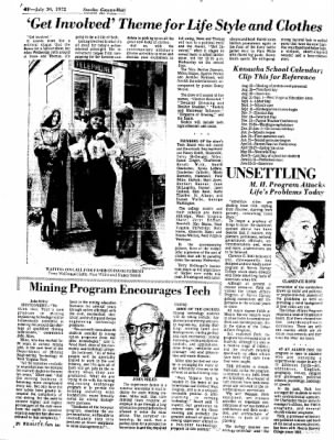Sunday Gazette-Mail from Charleston, West Virginia on July 30, 1972 · Page 63