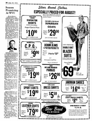 Sunday Gazette-Mail from Charleston, West Virginia on July 30, 1972 · Page 68