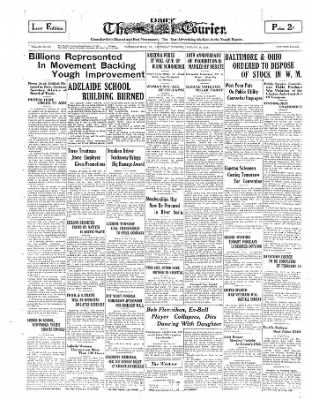 The Daily Courier from Connellsville, Pennsylvania on January 16, 1930 · Page 1