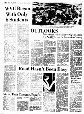 Sunday Gazette-Mail from Charleston, West Virginia on July 30, 1972 · Page 77