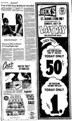 Sunday Gazette-Mail from Charleston, West Virginia on July 20, 1975 · Page 11