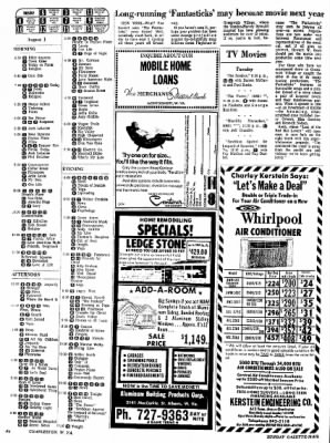 Sunday Gazette-Mail from Charleston, West Virginia on July 30, 1972 · Page 89