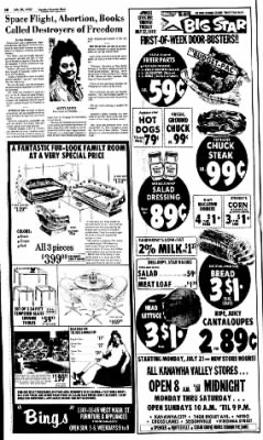 Sunday Gazette-Mail from Charleston, West Virginia on July 20, 1975 · Page 16