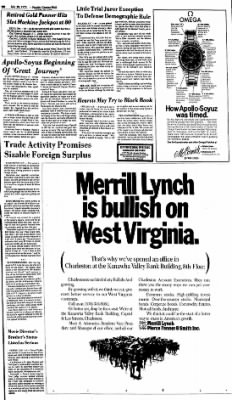 Sunday Gazette-Mail from Charleston, West Virginia on July 20, 1975 · Page 21
