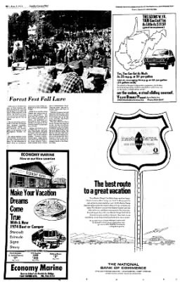 Sunday Gazette-Mail from Charleston, West Virginia on June 2, 1974 · Page 30