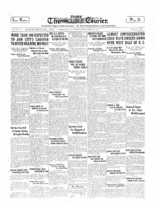 The Daily Courier from Connellsville, Pennsylvania on January 18, 1930 · Page 1