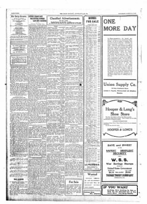 The Daily Courier from Connellsville, Pennsylvania on March 30, 1918 · Page 4