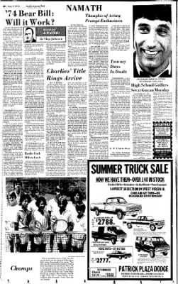 Sunday Gazette-Mail from Charleston, West Virginia on June 2, 1974 · Page 54