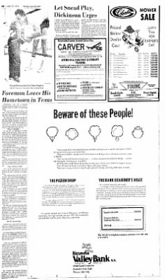 Sunday Gazette-Mail from Charleston, West Virginia on June 13, 1976 · Page 51