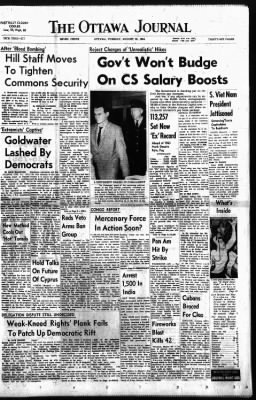 The Ottawa Journal from Ottawa,  on August 25, 1964 · Page 1