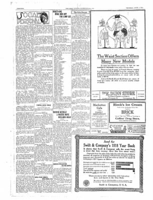 The Daily Courier from Connellsville, Pennsylvania on April 4, 1918 · Page 2