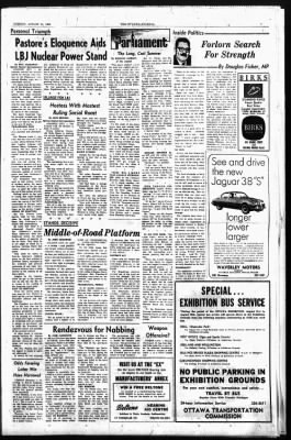 The Ottawa Journal from Ottawa,  on August 25, 1964 · Page 7