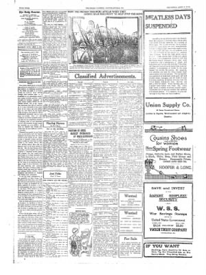 The Daily Courier from Connellsville, Pennsylvania on April 4, 1918 · Page 4