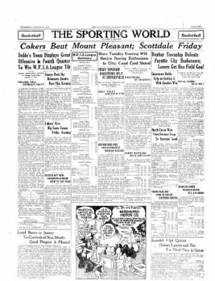 The Daily Courier from Connellsville, Pennsylvania on January 22, 1930 · Page 9