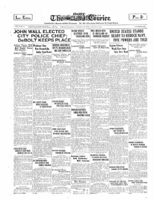 The Daily Courier from Connellsville, Pennsylvania on January 23, 1930 · Page 1