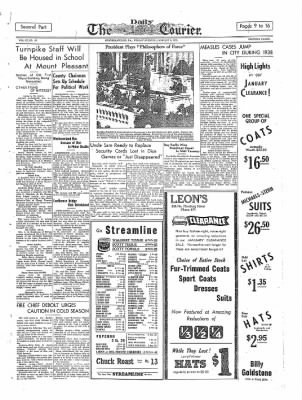 The Daily Courier from Connellsville, Pennsylvania on January 6, 1939 · Page 9