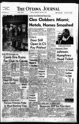 The Ottawa Journal from Ottawa,  on August 27, 1964 · Page 1