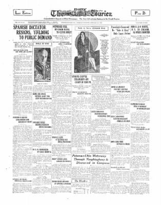 The Daily Courier from Connellsville, Pennsylvania on January 28, 1930 · Page 1