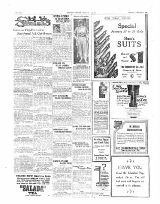 The Daily Courier from Connellsville, Pennsylvania on January 28, 1930 · Page 2