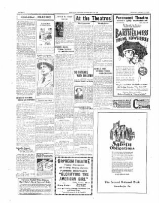 The Daily Courier from Connellsville, Pennsylvania on January 28, 1930 · Page 6