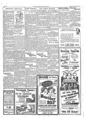 The Daily Courier from Connellsville, Pennsylvania on January 13, 1939 · Page 6