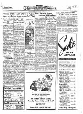 The Daily Courier from Connellsville, Pennsylvania on January 13, 1939 · Page 9