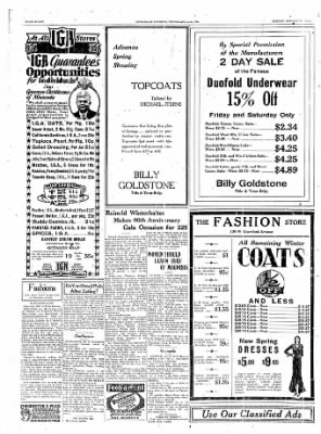 The Daily Courier from Connellsville, Pennsylvania on January 31, 1930 · Page 8