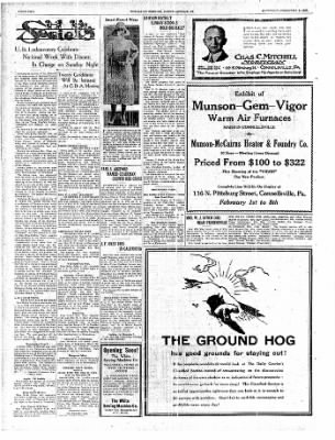 The Daily Courier from Connellsville, Pennsylvania on February 1, 1930 · Page 2