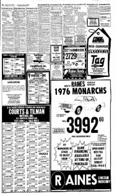 Sunday Gazette-Mail from Charleston, West Virginia on June 20, 1976 · Page 58