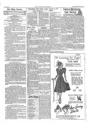 The Daily Courier from Connellsville, Pennsylvania on January 20, 1939 · Page 4