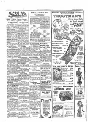 The Daily Courier from Connellsville, Pennsylvania on January 23, 1939 · Page 2