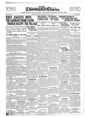 The Daily Courier from Connellsville, Pennsylvania on April 30, 1918 · Page 1