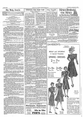 The Daily Courier from Connellsville, Pennsylvania on January 26, 1939 · Page 4
