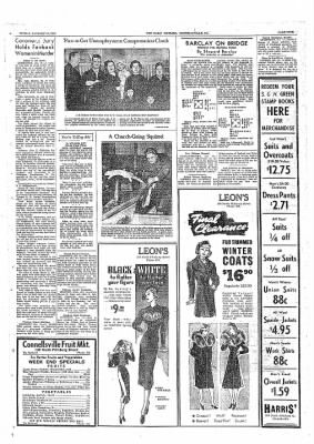 The Daily Courier from Connellsville, Pennsylvania on January 14, 1938 · Page 9