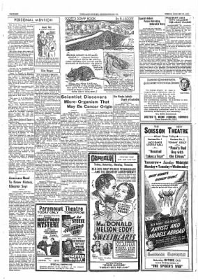 The Daily Courier from Connellsville, Pennsylvania on January 27, 1939 · Page 6