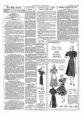 The Daily Courier from Connellsville, Pennsylvania on January 21, 1938 · Page 4